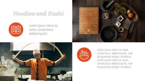 훌륭한 요리(퀴진) PowerPoint 프레젠테이션 템플릿_15