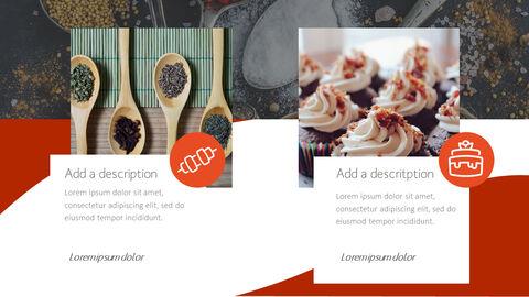 훌륭한 요리(퀴진) PowerPoint 프레젠테이션 템플릿_30