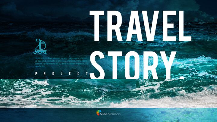 Travel Story PowerPoint Templates for Presentation_01