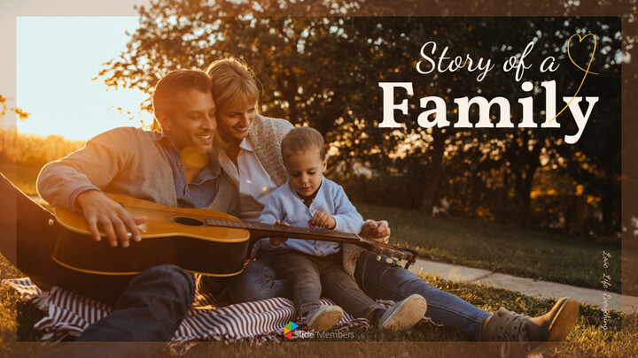 Story of a Family PowerPoint Templates Design_01