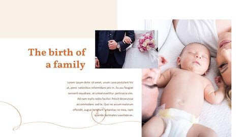 가족 이야기 PowerPoint 템플릿 디자인_03