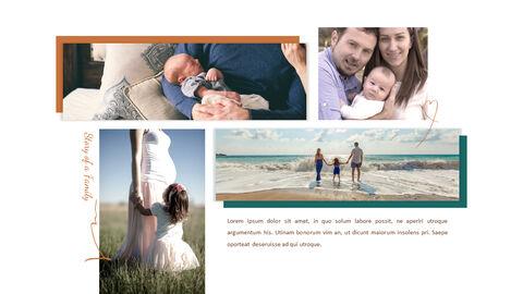 가족 이야기 PowerPoint 템플릿 디자인_04