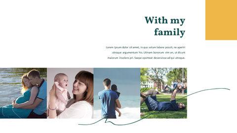 가족 이야기 PowerPoint 템플릿 디자인_06