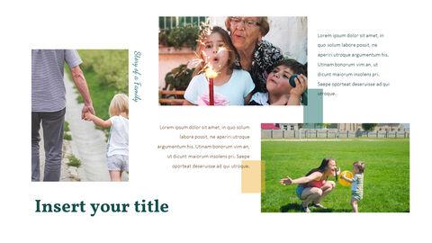 가족 이야기 PowerPoint 템플릿 디자인_07