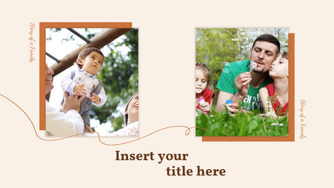Story of a Family PowerPoint Templates Design_03