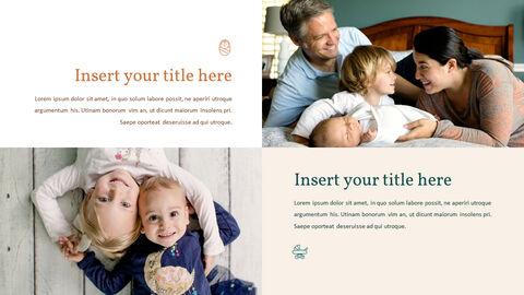 가족 이야기 PowerPoint 템플릿 디자인_09