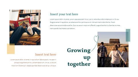 가족 이야기 PowerPoint 템플릿 디자인_11