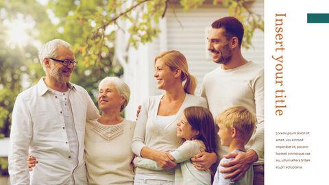 가족 이야기 PowerPoint 템플릿 디자인_12