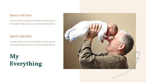 가족 이야기 PowerPoint 템플릿 디자인_13