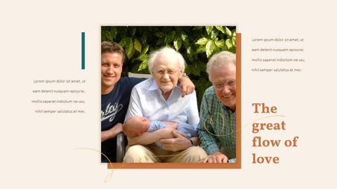 가족 이야기 PowerPoint 템플릿 디자인_15
