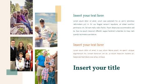 가족 이야기 PowerPoint 템플릿 디자인_16