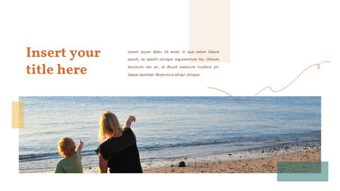 가족 이야기 PowerPoint 템플릿 디자인_17