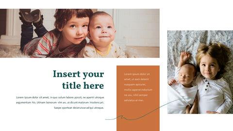 가족 이야기 PowerPoint 템플릿 디자인_18