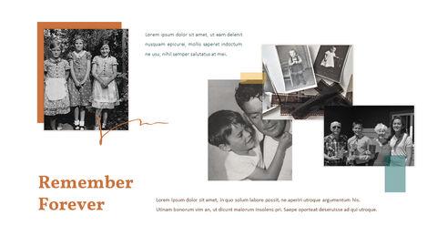 가족 이야기 PowerPoint 템플릿 디자인_20