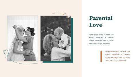 가족 이야기 PowerPoint 템플릿 디자인_21