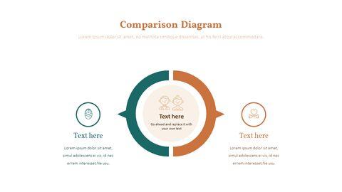가족 이야기 PowerPoint 템플릿 디자인_26