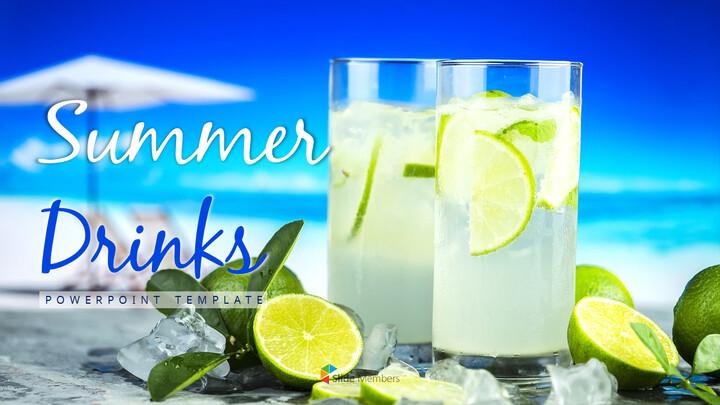여름 음료 파워포인트 템플릿_01