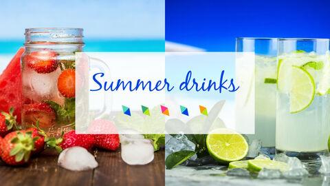 여름 음료 파워포인트 템플릿_07