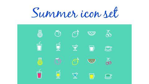 여름 음료 파워포인트 템플릿_32