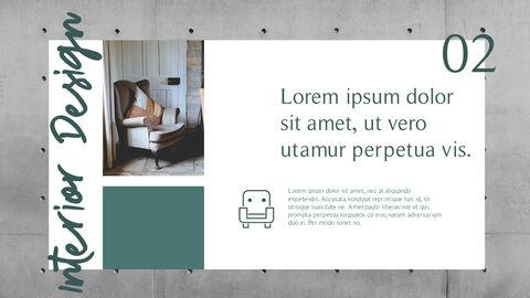 인테리어 디자인 슬라이드 프레젠테이션_10