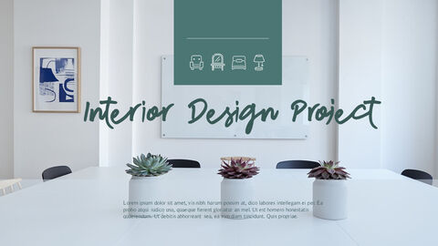 인테리어 디자인 슬라이드 프레젠테이션_40