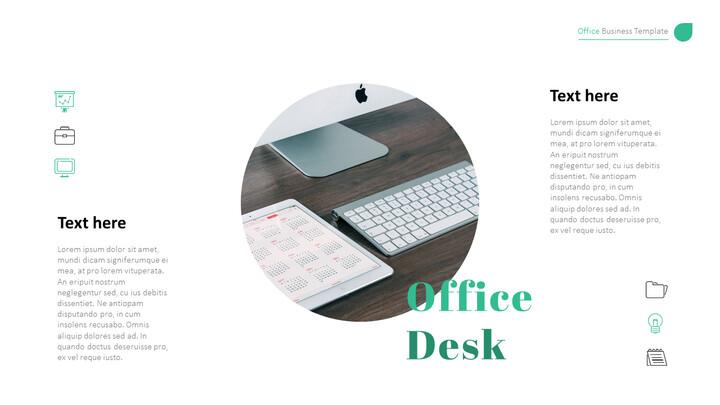사무실 사업 프레젠테이션용 PowerPoint 템플릿_02