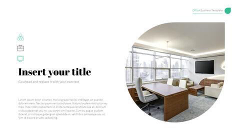 사무실 사업 프레젠테이션용 PowerPoint 템플릿_10