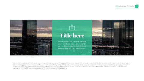 사무실 사업 프레젠테이션용 PowerPoint 템플릿_20