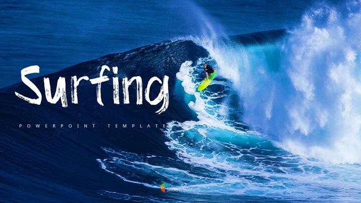 서핑 파워포인트 템플릿_01