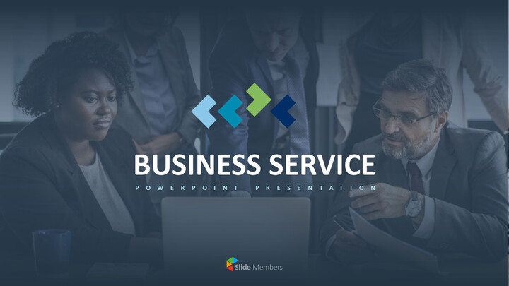 Business Service PowerPoint Templates for Presentation_01