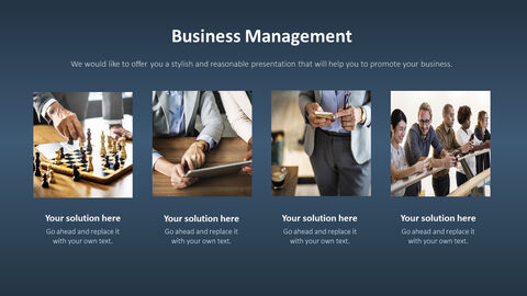 Business Service PowerPoint Templates for Presentation_05