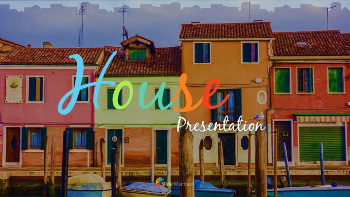 집 프레젠테이션용 PowerPoint 템플릿_01