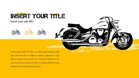 오토바이 PowerPoint 템플릿 디자인_09