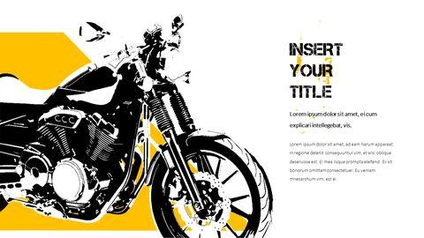 오토바이 PowerPoint 템플릿 디자인_14