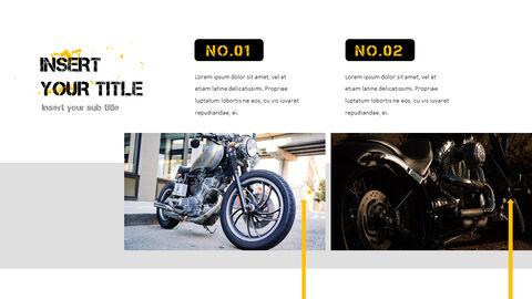 오토바이 PowerPoint 템플릿 디자인_23