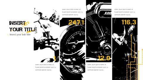 오토바이 PowerPoint 템플릿 디자인_32