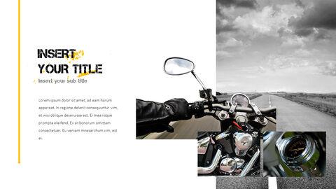 오토바이 PowerPoint 템플릿 디자인_34