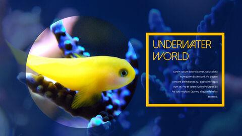수중 세계 (해수어) 테마 템플릿_08