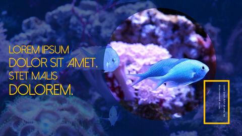 수중 세계 (해수어) 테마 템플릿_19