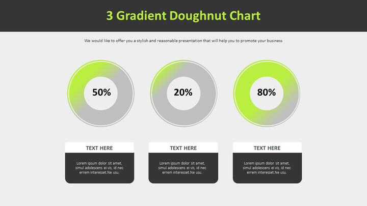 3 그라디언트 도넛 차트 다이어그램_01