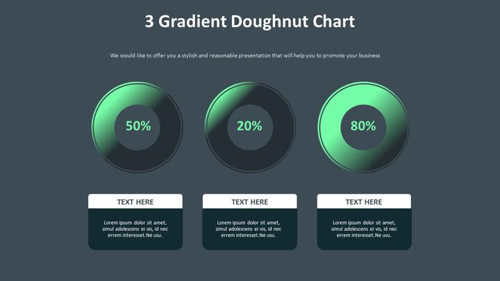 3 그라디언트 도넛 차트 다이어그램_02