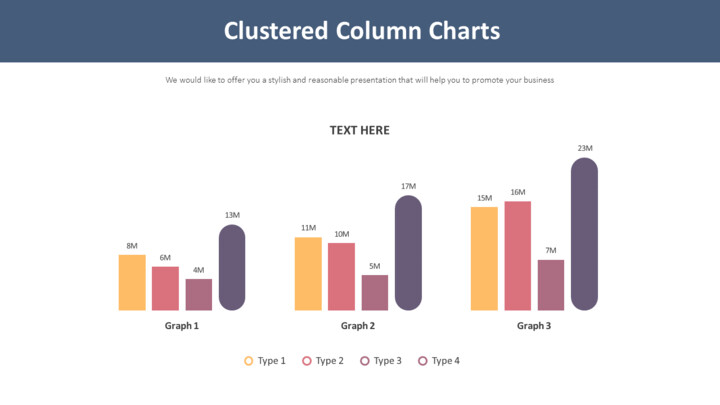Clustered Column Charts Diagram_01