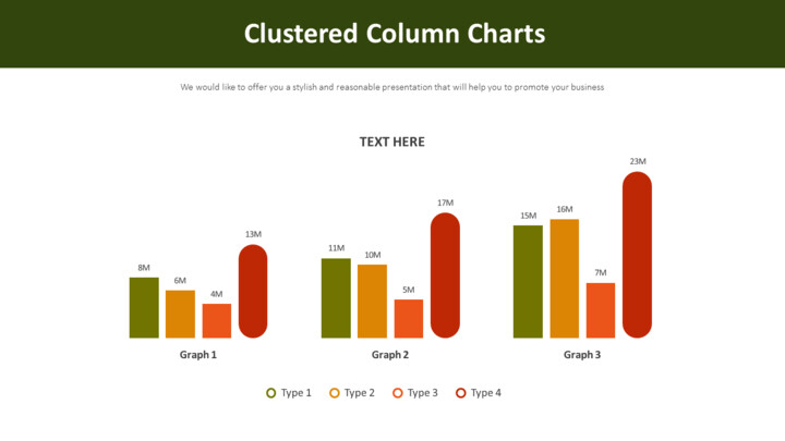 Clustered Column Charts Diagram_02