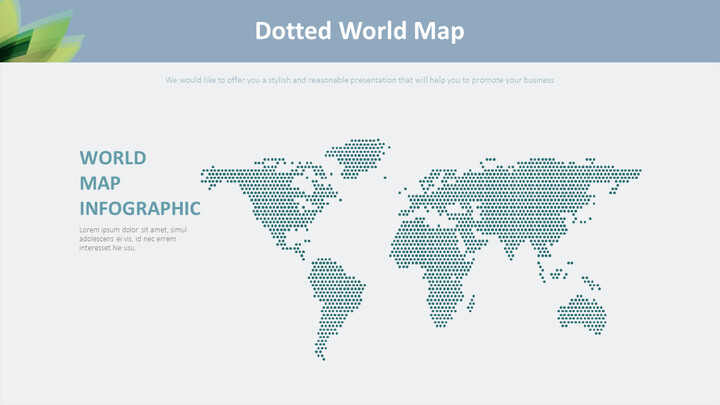 Dotted World Map Diagram_02