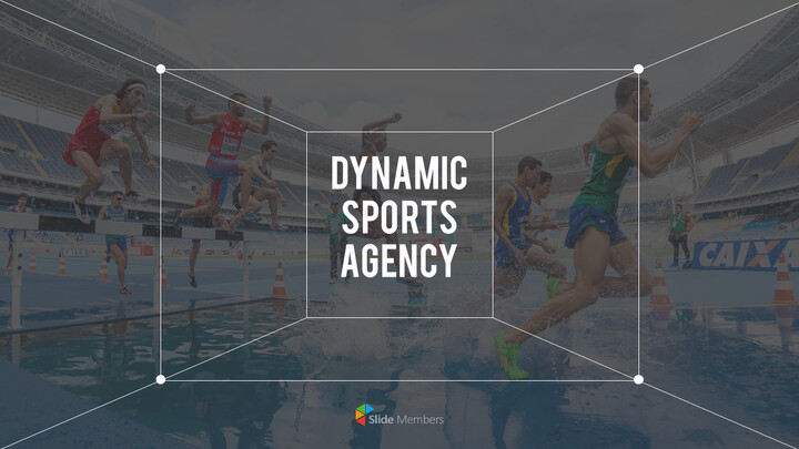 Dynamic Sports Agency PowerPoint Templates for Presentation_01