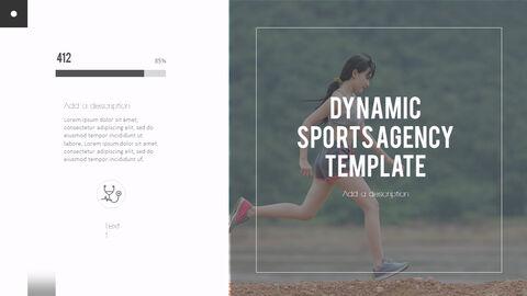 다이나믹 스포츠 에이전시 프레젠테이션용 PowerPoint 템플릿_07