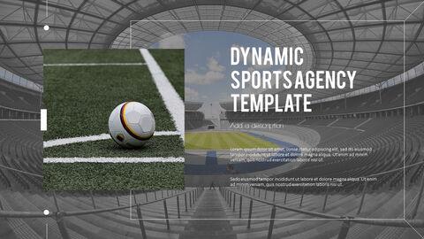 다이나믹 스포츠 에이전시 프레젠테이션용 PowerPoint 템플릿_17