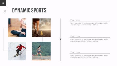 다이나믹 스포츠 에이전시 프레젠테이션용 PowerPoint 템플릿_20