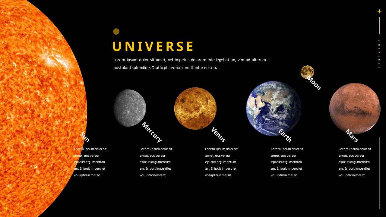 Universe Theme Presentation Templates