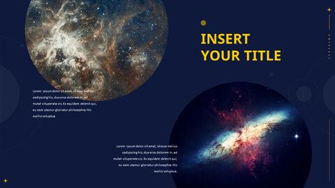 우주 테마 프레젠테이션 템플릿_32